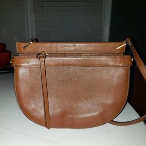 Louise et Cie Leather Crossbody Bag
